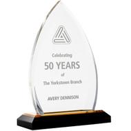 Gold Acrylic crest award