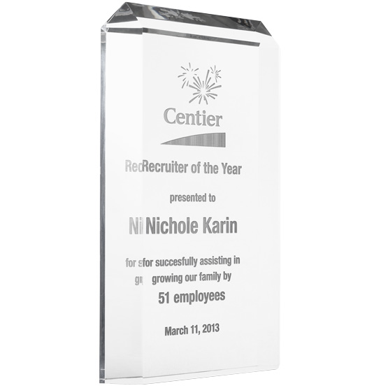 Premium Acrylic Award Trophies