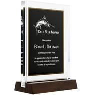 Black Standing Acrylic Award