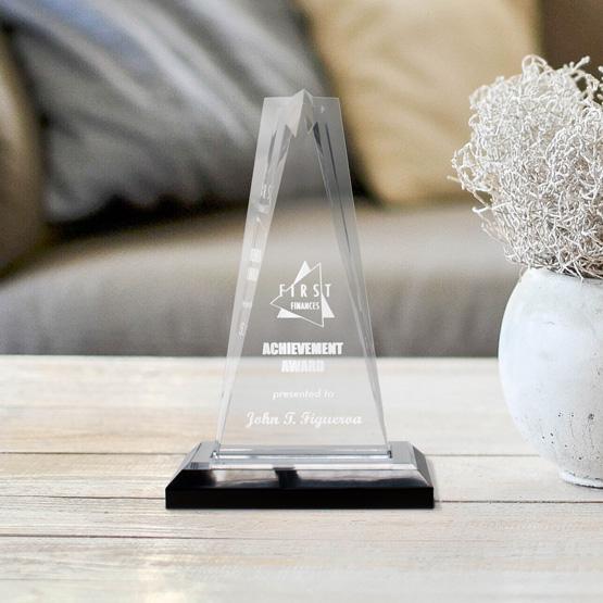 Acrylic Award - Star Tower