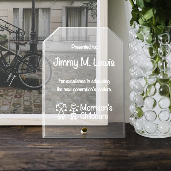 Corner Economy Glass Award