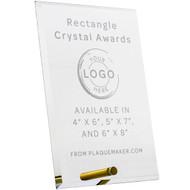 Rectangle Economy Glass Award