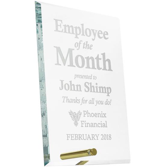 Economy glass award