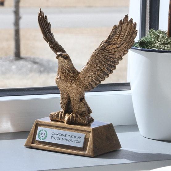 Resin Eagle Trophy