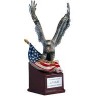 landing eagle trophy