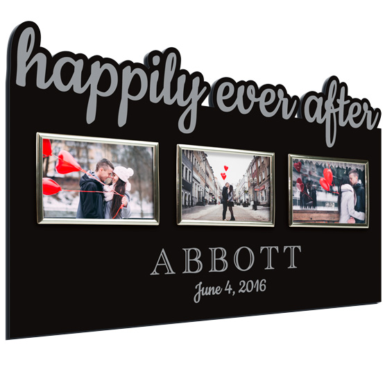 Happily Ever After Acrylic Frame