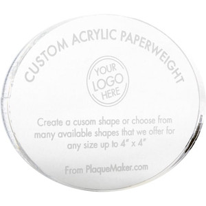 Custom Acrylic Paperweights