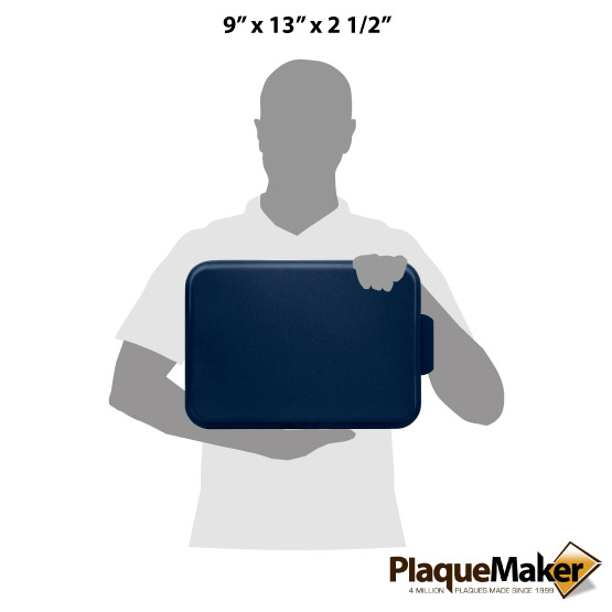 Cake Pan with Navy Lid Size