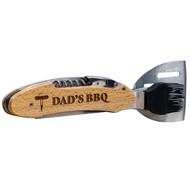 Beech Wood 5-in-1 BBQ Tool