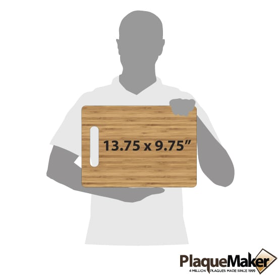 Personalized Cutting Board Size Guide