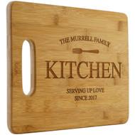 Family Kitchen Cutting Board