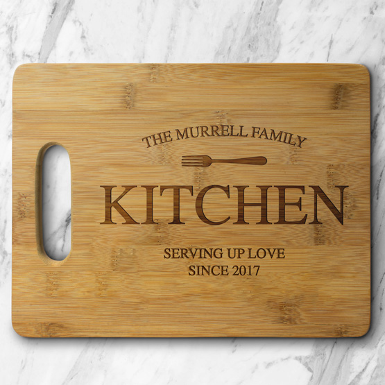 Family Kitchen Cutting Board