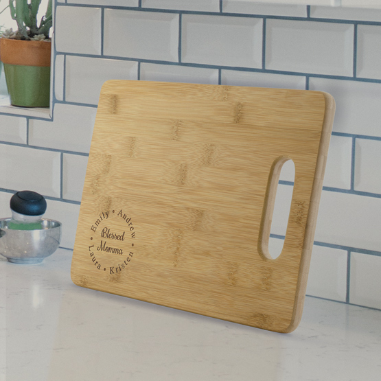 Blessed Mother Cutting Board