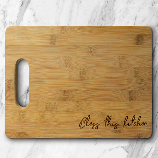 Bless this Kitchen Cutting Board
