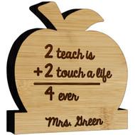 Teacher 2+2 Apple