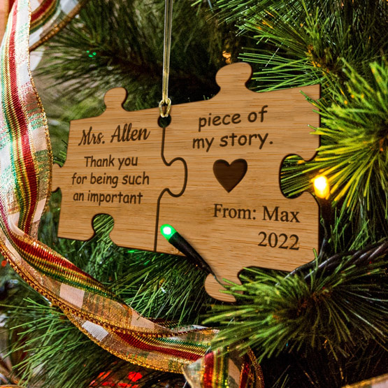 Piece of my story ornament