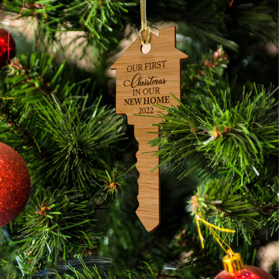 Bamboo Key Ornament