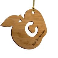 Apple Cutout Ornament