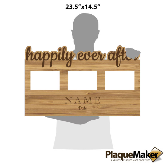 Happily Ever After Frame Size