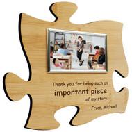 Teacher Puzzle Frame