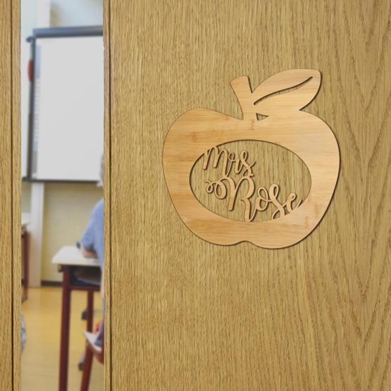 Apple Door Sign