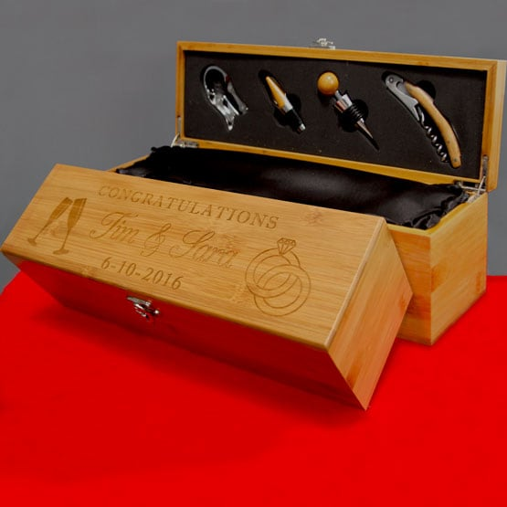 Bamboo Wine Sets