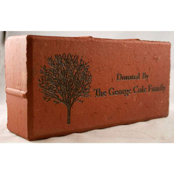 Engraved Brick Sale Size Guide