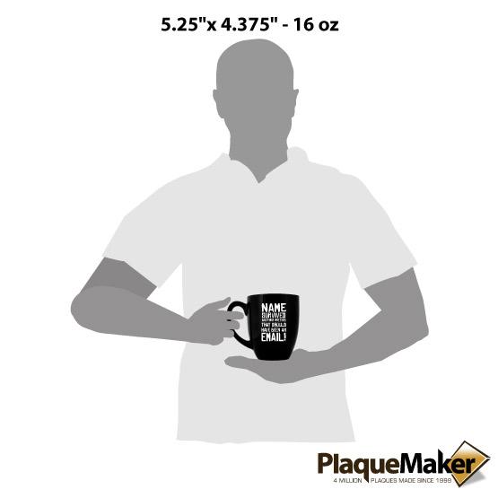 survived a meeting bistro mug size