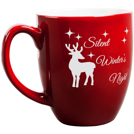 Silent Winter's Night Bistro Mug