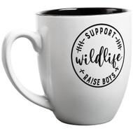 Raise Boys White Bistro Mug