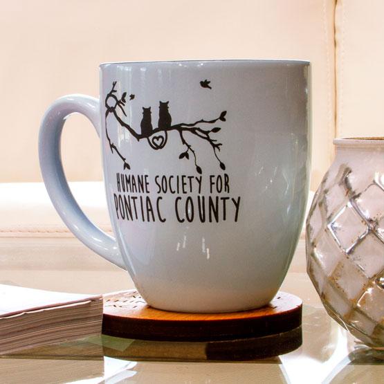White Ceramic Bistro Mug