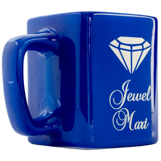 Custom Blue Coffee Mugs - 8 oz.