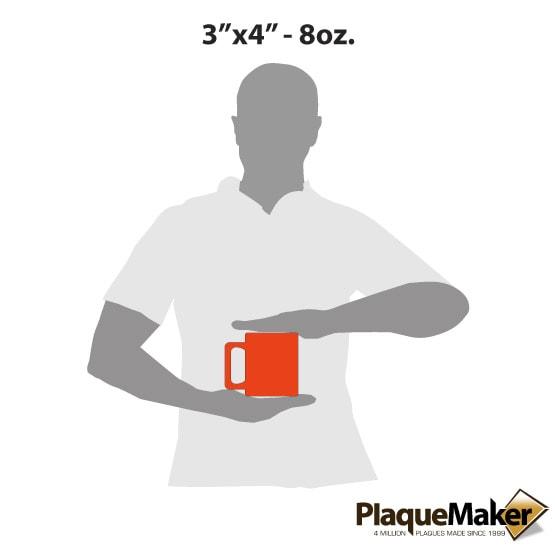 Orange Coffee Mug Size Guide