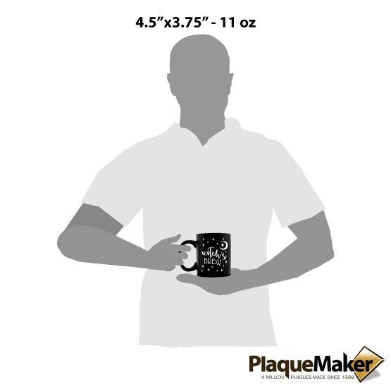 Witch's Brew Mug Size