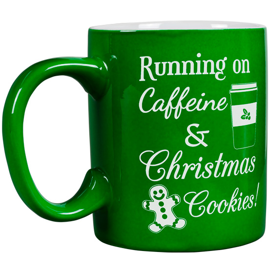 Caffeine and Christmas Cookies Mug