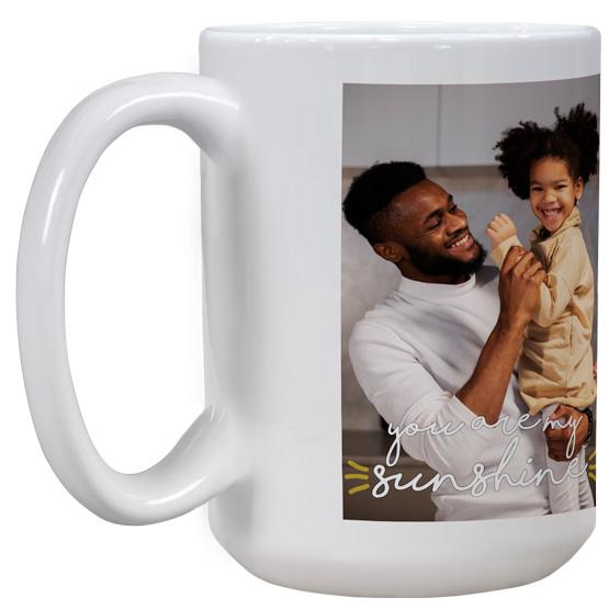 Sublimated White Mug
