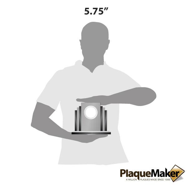 Art Deco Glass Clock Size Guide