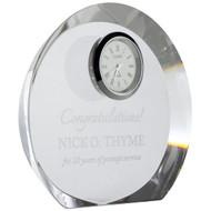 crystal circle clocks