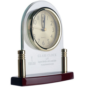 Glass Arch Clocks