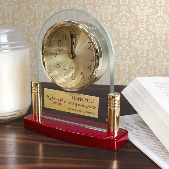 Glass Arch Clocks