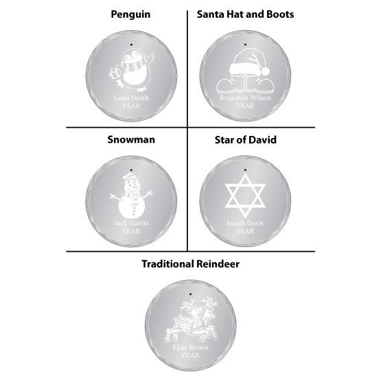 Select Your Design Ornament Design