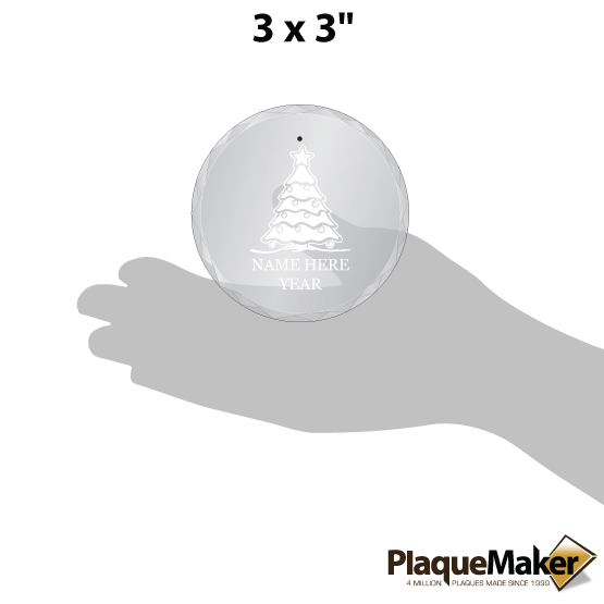 Select Your Design Ornament Size