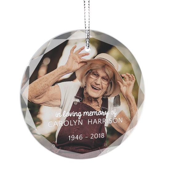 In Loving Memory Color Ornament