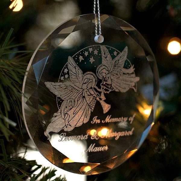 circle crystal ornament sale