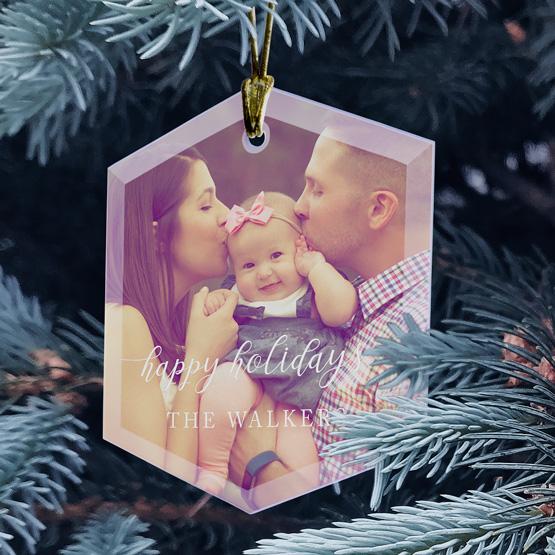 Happy Holidays Ornament