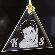 triangle crystal ornament sale