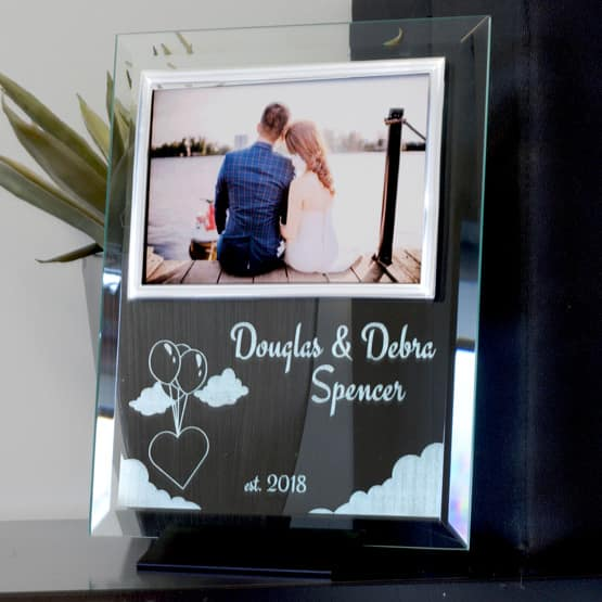 Crystal Photo Frame Plaques