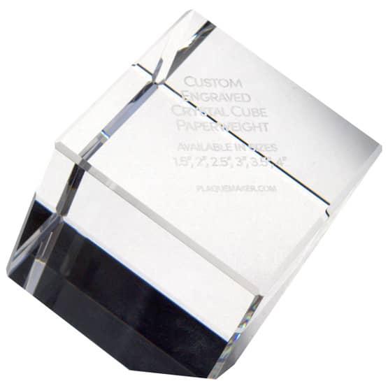 Crystal Prism Paperweights Sale
