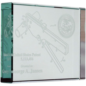 Custom Patent Paperweight
