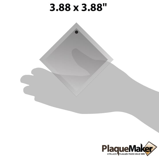 diamond crystal suncatcher size guide